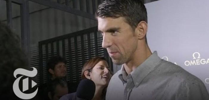 Michael Phelps on Olympic Swimming Career | Rio Olympics 2016