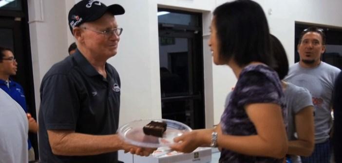 Rockville Swim Coach Jim Williams Retires