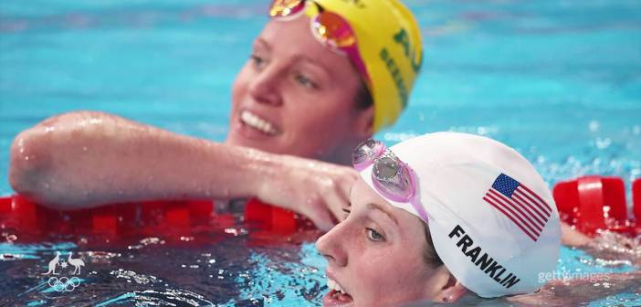 The age-old rivalry in the pool: USA vs. AUS
