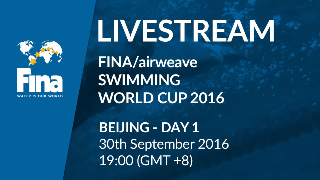 LIVE | Day 1 – FINA/airweave Swimming World Cup 2016 #4 Beijing