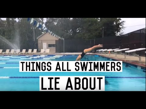 Lies Swimmers Tell Their Coaches