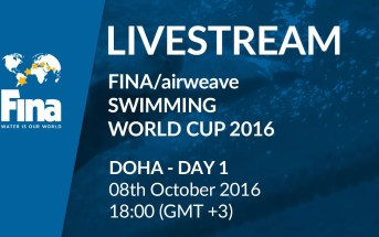 LIVE | Day 1 – FINA/airweave Swimming World Cup 2016 #6 Doha