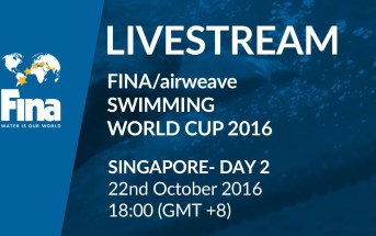 LIVE | Day 2 – FINA/airweave Swimming World Cup 2016 #7 Singapore