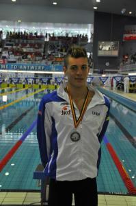 Luca Mencarini medaglia d'argento agli eurojunior di Anversa 2012