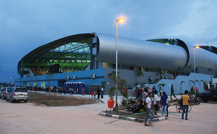NEW ACQUATIC CENTER IN SINGAPORE