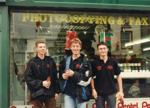 Eddie Moore, Sean Colgan and Eamon Byrne