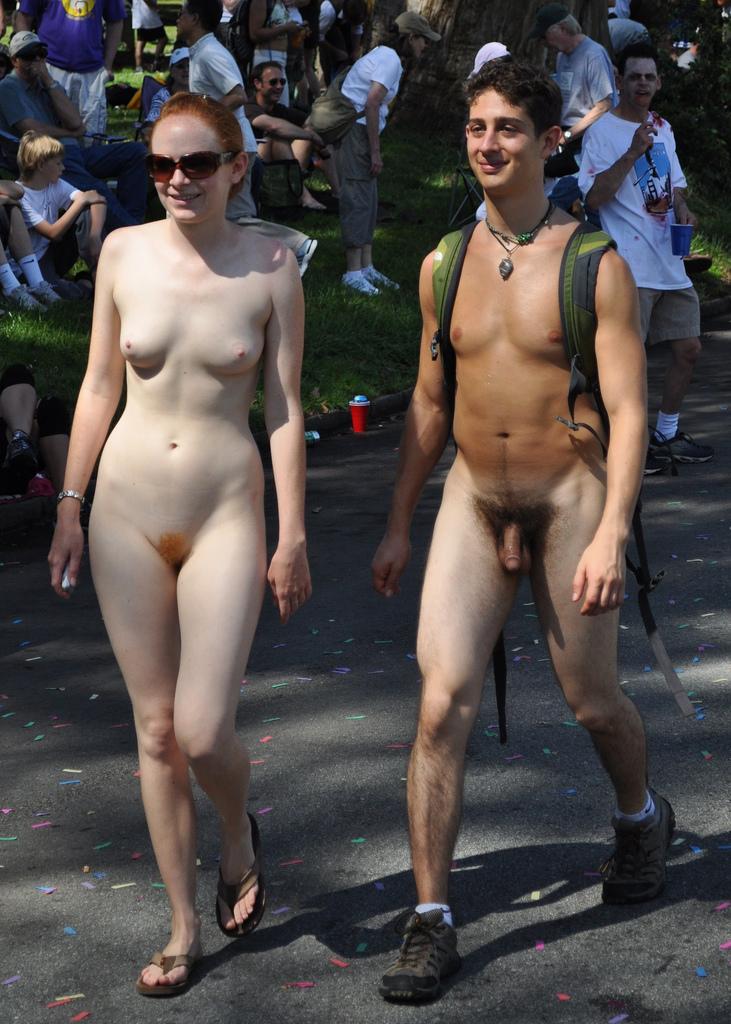 horny nudist couples in public