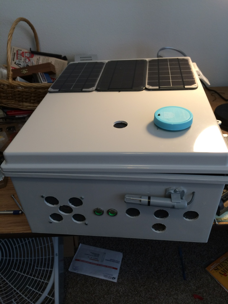 Project curacao arduino solar power ds update