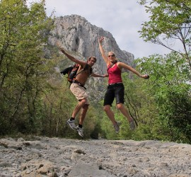 En snartur i Paklenica Nasjonalpark