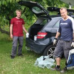 Herlig å få hjelp av Tor og Øyvind til å flytte!