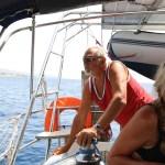 Fattern i fullsving ombord