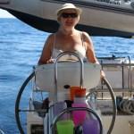 Anne-Grethe på roret :) Veldig bra.