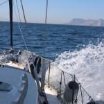 Klippen i Gibraltar i sikte!