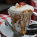 Lunsjtid. Cappuccino. Digg.