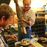 Mmmmmmmmmmmm. Kjøttet kommer fra kuene som velter rundt oppe i Madeiras høyland. Kan ikke bli stort bedre.