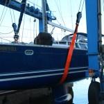 Spinnvill ut av det blå. Skippern følger nøye med.
