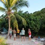 Strandfest med S/Y Silence og to andre båter
