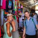 Obligatorisk markedstitting i St Johns, Antigua