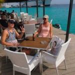 Bonaire's svar på fortauskafe.
