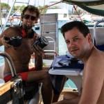 Vedlikehold av ankervinsj i marinaen i Santa Marta