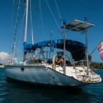 Den norske mysterie båten Albacor Aldelante fra Trondheim. Forlatt for ett år siden. Myndighetene i Panama ville ha vår hjelp til å finne ut hva som har skjedd med eierene. Noen som har tips?