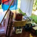 Vi måtte faktisk ha en egen båttaxi tilbake til Cambombia for å få med handlelasset vårt og Wayne og Hazel sitt.