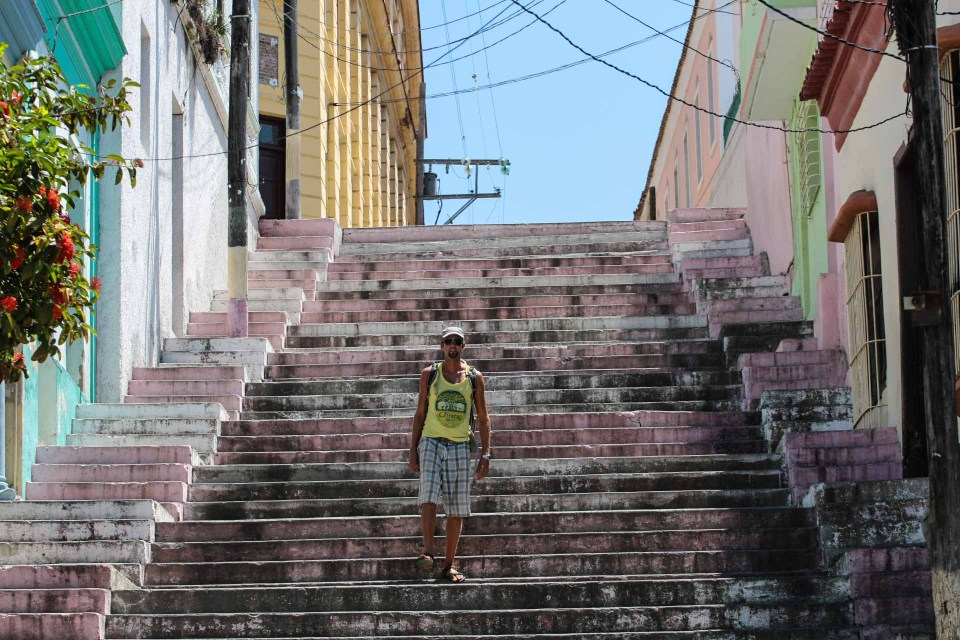 Gatelangs i Santiago