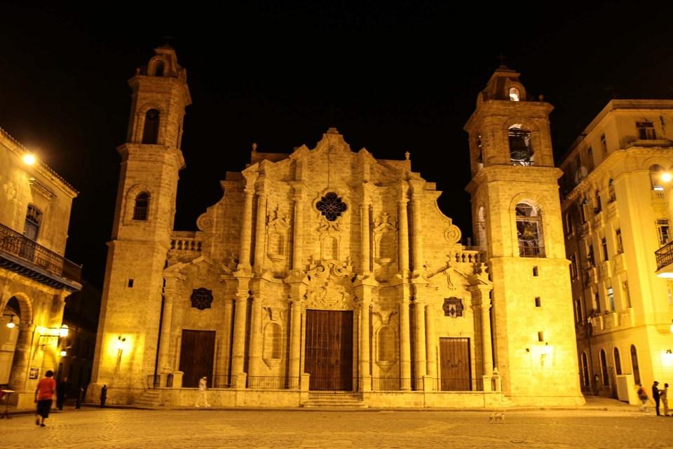 San Cristobal katedralen i Havana.