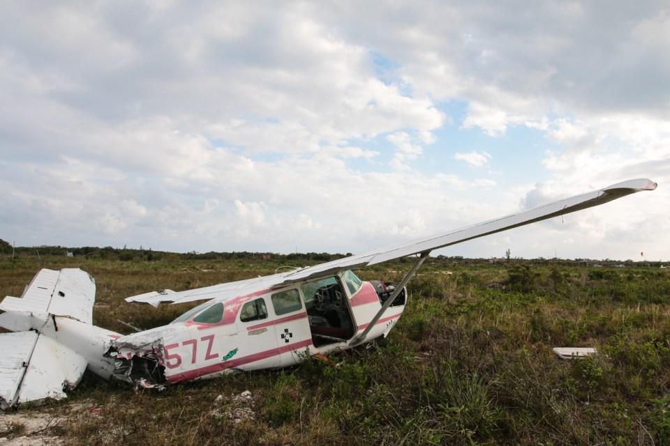 """Bobbys privatfly gikk dessverre også dukken under """"joaquin""""."""