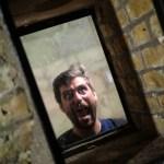 Vi møtte en spik spenna fyr i labyrintsystemet på fortet i Hamilton.