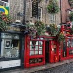Koselige Temple Bar området i Dublin