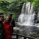 Fossefall i Glenariff nasjonalpark