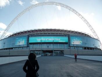Wembley Stadium, Home of the England team.