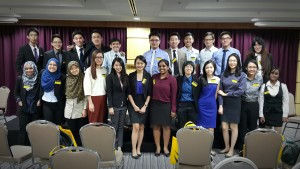 Attended the Assessment Center for Maybank's Global Apprentice Program.