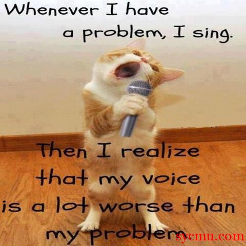 My voice is worse than my problems