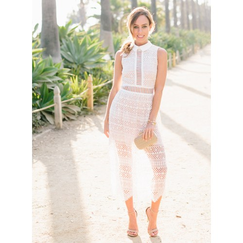 Medium Crop Of White Lace Dresses