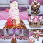 Cake, Cake Pops and Cupcakes on Dessert Table
