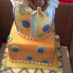 Baby Bear Gift Box Baby Shower Cake