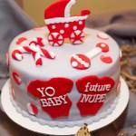 Baby Kappa Onsie Cane Baby Shower Cake
