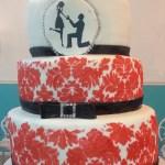 Demask_Print_Wedding_Engagement_Cake_Sydneys_Sweets