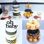 Black_White_and_Gold_Modern_Baby+Shower+Dessert_Table