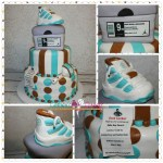 Sneaker+New+Release+Baby+Shower+Cake