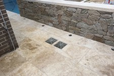Travertine Tiling