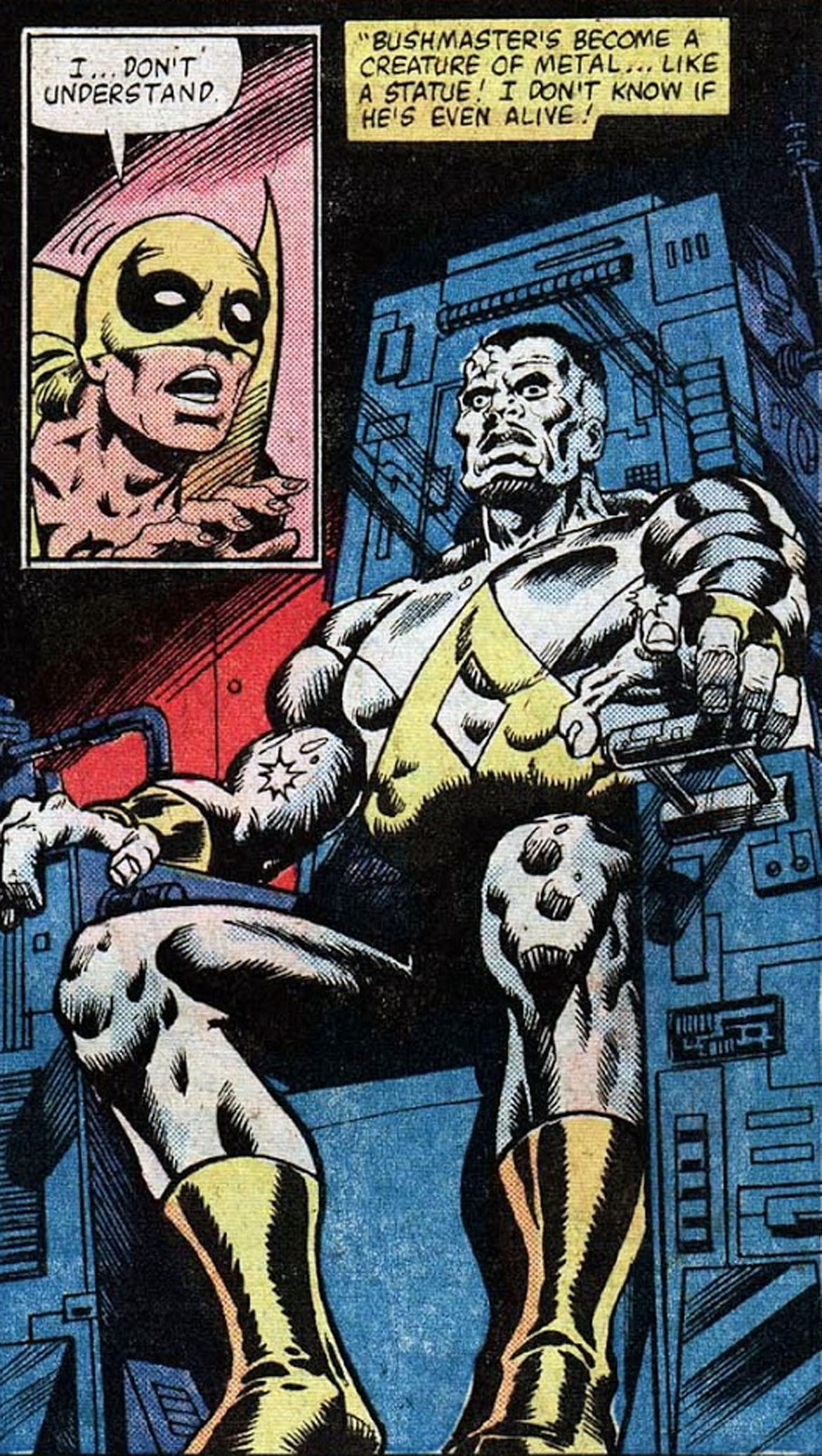 Who is Bushmaster  A guide to Luke Cage Season 2 s new villain Who     Who is Bushmaster  A guide to Luke Cage Season 2 s new villain Who is  Bushmaster  A guide to Luke Cage Season 2 s new villain   SYFY WIRE