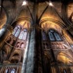 cathédrale de reims intérieur HDR