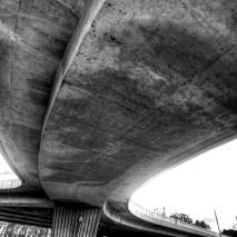Prise de vue de Reims en noir et blanc