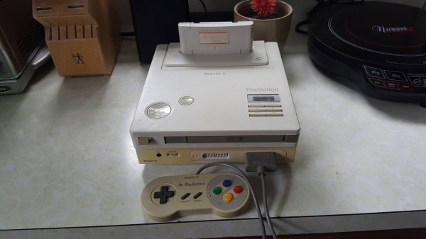 Nintendo PlayStation Prototyp