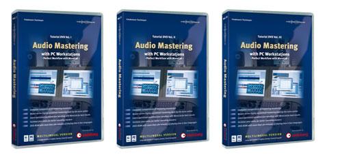 Steinberg Announces Audio Mastering DVD-ROM Tutorial Series