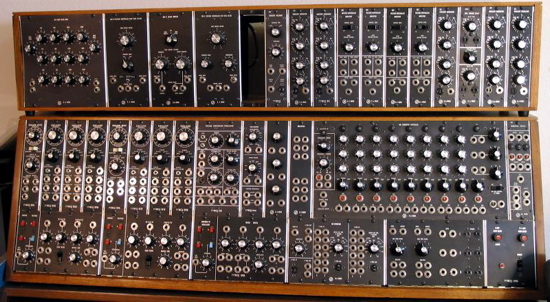 Moog 55 modular synthesizer
