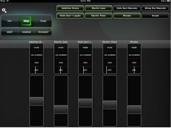ipad-garageband-controller